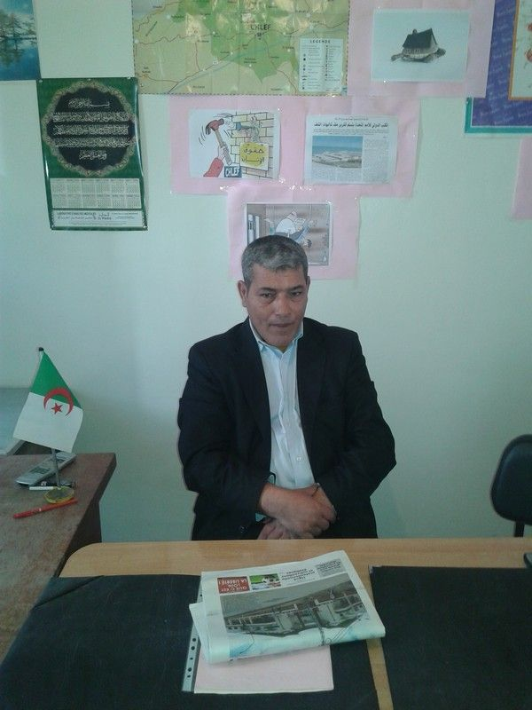 President de la LADDH CHLEF HOUARI Kaddour