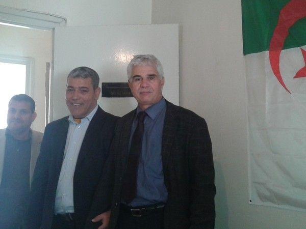 Mr Houari Kaddour President de la LADDH CHLEF